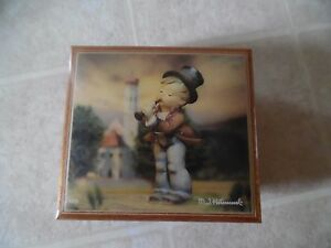 Excellent Vintage Swiss Movement Hummel Music Box. Figurine number 85