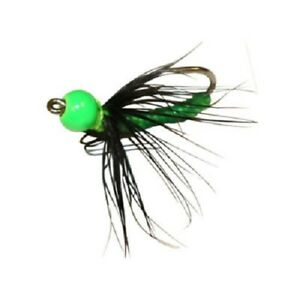 Northland Tackle Tungsten Larva Fly 1 25 oz Frog Fly Pack of 1 Panfish Jig $2.99