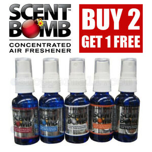 *BUY 2 GET 1 FREE* SCENT BOMB 100% Concentrated Air Freshener Spray (5 Scents)