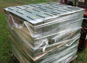 (25)  50 CAL AMMO CANS M2A1 MILITARY SURPLUS APPEAR UNUSED STORAGE BOX