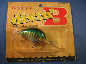 BAGLEY  DIVING  B 1  FISHING LURE    H69S   (1)