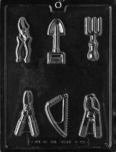 F090 Garden Tools Chocolate Candy Soap Mold with Instructions