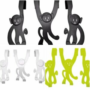 Monkey Door hanger by Wanted - green, white and black