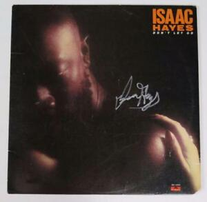 ISAAC HAYES Signed Autograph
