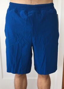 Lululemon Men's Size XL Pace Breaker Short Blue DKRL Liner 9