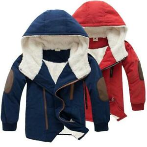 Kids Jacket for Boy Cotton Warm Winter Fashion Outwear Children Snowsuit Casual