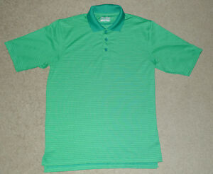 Mens Small S Under Armour UA Classic Striped Polo Golf Casual Athletic Shirt