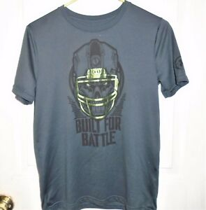 Under Armour Boys SS Shirt Gray Size Youth Large Loose