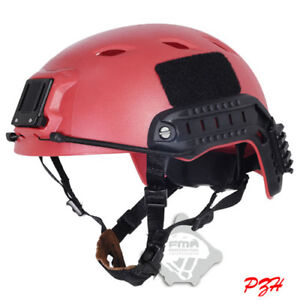 Tactical LIGHTWEIGHT OPS-CORE FAST ABS Base Jump Military Helmet Red LXL TB285