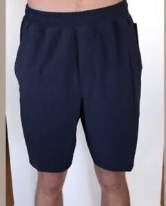 Lululemon Men's Size XXL Pace Breaker Short Navy Blue NUNY NWT Liner 9