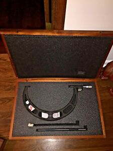 STARRETT DIGITAL OUTSIDE MICROMETER NO. 733 14quot; 15quot; $724.99
