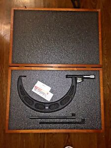 STARRETT DIGITAL OUTSIDE MICROMETER NO. 733 12quot; 13quot; $719.99