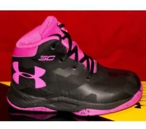 NEW Under Armour Girl's UA INFANT STEPH CURRY 2.5 1276333-007 Basketball Toddler