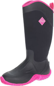 MUCK Tack II Womens Black Hot Pink High Sizes 567891011s $80.99