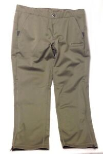 New Under Armour Men's Storm 2 Highly Water-Resistant Loose Fit 2XL Green Pants