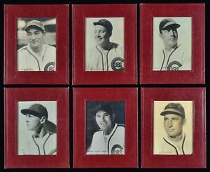 1938 Sawyer Biscuit Chicago Cubs Full Set of 26 with Dean + Uncataloged Johnson