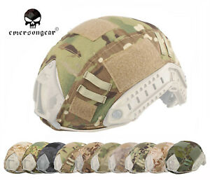 Emerson Fast Helmet Cover Airsoft Hunting Tactical Helmet Cover Multicam AOR2