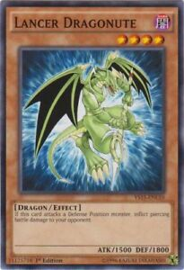 Yugioh! Lancer Dragonute -YS15-ENL10 - Common - 1st Edition Near Mint, English