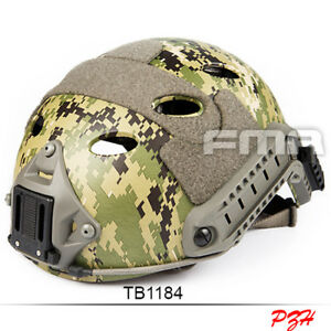 FMA Tactical FAST Helmet-PJ AOR2 TB1184 For Airsoft Paintball