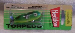 HEDDON  TINY TORPEDO LURE  122017B   MIP  SHALLOW CB  RARE COLOR