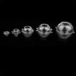5 Sizes Round Sphere Ball Shape Plastic Candle Mould Soap Mold for Candle Making