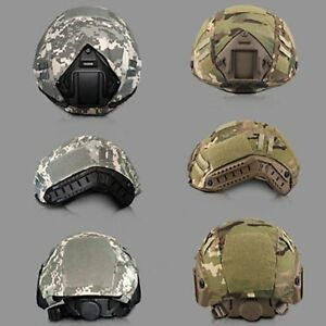 Outdoor Tactical Military Airsoft Paintball Gear Combat Fast Helmet Cover Tools