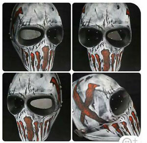Army of Two Paintball Airsoft BB Gun Mask Goggle Protective HELMET Punisher 08