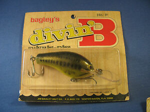 BAGLEY  DIVING   B 3   FISHING LURE   LB9   (1)