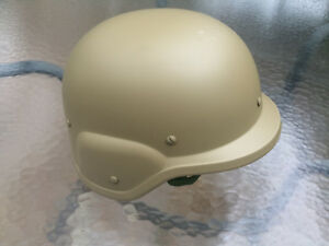M88 Style Tactical Military Airsoft Paintball SWAT ABS Safety Helmet - Tan