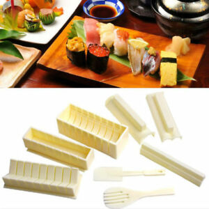 Sushi Cooking Tools DIY 10Pcs Sushi Maker Sushi Roll Tools Rice Ball Mould