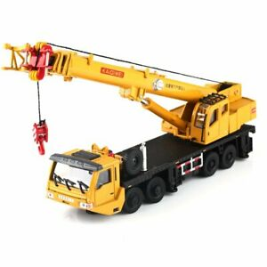 OS Scale 1:55 Diecast Vehicles Model Kaidiwei Construction Equipment Crane Car