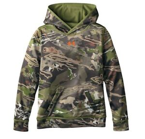 Under Armour Boys Hoodie Ridge Reaper Reversible Camo Size Large NWT $60