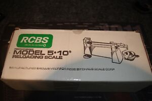 RCBS  5-10 RELOADING POWDER & BULLET  SCALE (Excellent Condition) FREE SHIPPING
