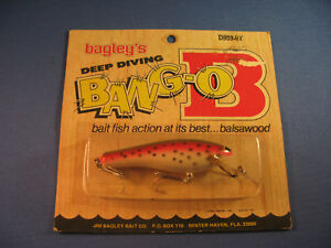 BAGLEY DIVING   BANG-O-B 3  FISHING LURE     RT    (1)