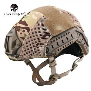 EMERSON Fast Helmet Cover Tactical Protective Mesh Cover Helmet Accessories 8809