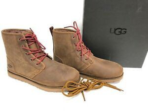 UGG Australia Harkley Waterproof Lace Up Boot 1017238 Grizzly Brown Men#x27;s sizes