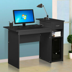 Computer Desk Home Office Furniture Work Station Laptop Study Table With Drawer