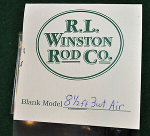 Winston Air 3 WT 8 FT 6 IN Fly Rod Blank & Kit with Free Shipping!
