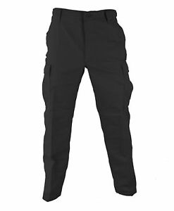 BLACK MENS SECUIRTY BDU Cargo Pants Mens Military Camouflage Pants S TO 2X