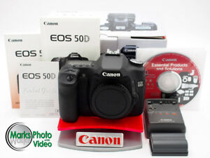 Canon EOS 50D Digital Camera Body Only #8773