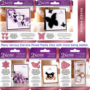 Die'sire Mixed Media Card + Fabric Metal Die Sets - Crafter's Companion