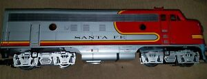 Rare NIB LGB 20570 Diesel F7A Locomotive Santa Fe #329 G Scale Train