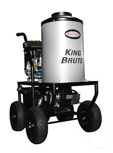 SIMPSON King Brute KB3028 3000 PSI  2.8 GPM Hot Water Pressure Washer - 65100