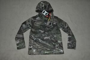 Under Armour Boys Storm Icon Camo Hoodie 1286119 945 Youth Small NWT