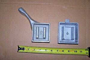 Poured Lead Mold Make Dive Weights 2 & 4lb. New Never Used Dive Weight Molds