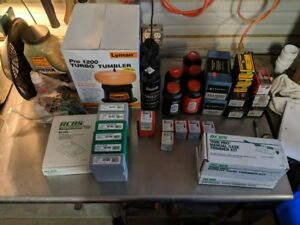 RCBS Reloading Equimpent Press and Accessories