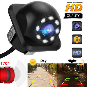 Car License Plate Rear View CCD 170° Angle Night Vision Reverse Backup Camera