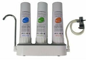 Organic 3 Stage Reverse Osmosis Drinking Water System RO Home Purifier FILTERS