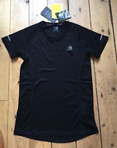 Womens Ladies Girls Karrimor Running Gym Top T Shirt Black Bnwt New Size 10