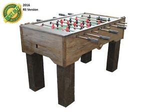 PERFORMANCE GAMES SURE SHOT RV RUSTIC FOOSBALL TABLE BRAND NEW 2 YEAR WARRANTY